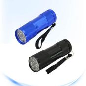 Camping flashlight with 9 images