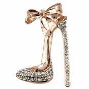 High-heel Shoes Brooch Safety Lapel Pin images
