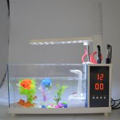 mini fish tank with LED light images