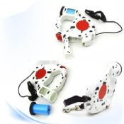 Retractable shock collar for humans safety harness and leash dog images