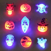 LED Halloween pin badge images