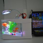led light mini acrylic USB fish tank images