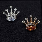 Crown Crystal Children Lapel Pin images