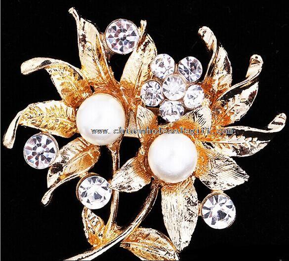 pearl korea brooch