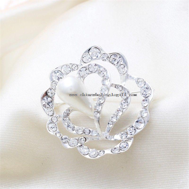 rhinestone brooch for wedding