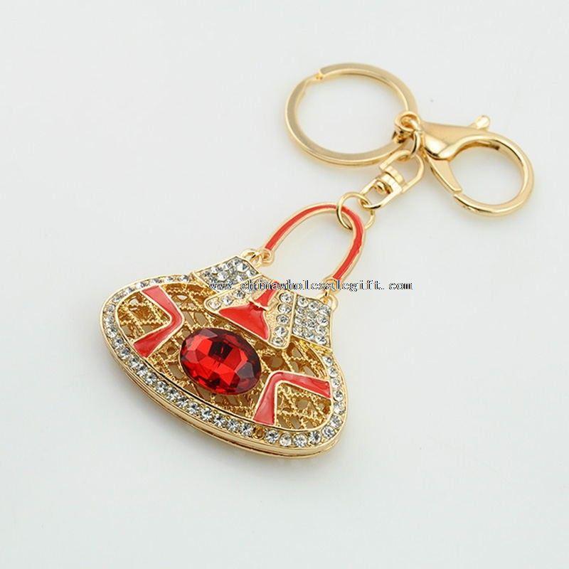 Crystal Bag Keychain
