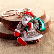 Christmas items Metal keychains images