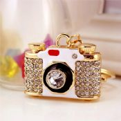 crystal camera keychain images
