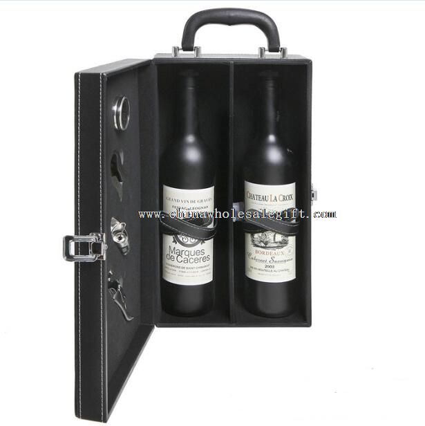 handle travel wine box