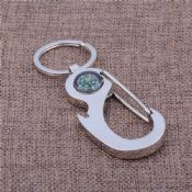 carabiner keychain with compass images