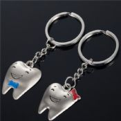 Couple Metal Dental Souvenir Gift Keychain images