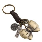 Metal Bronze Knot Keychain images