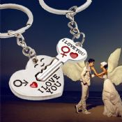 metal keychain romantic lovers images