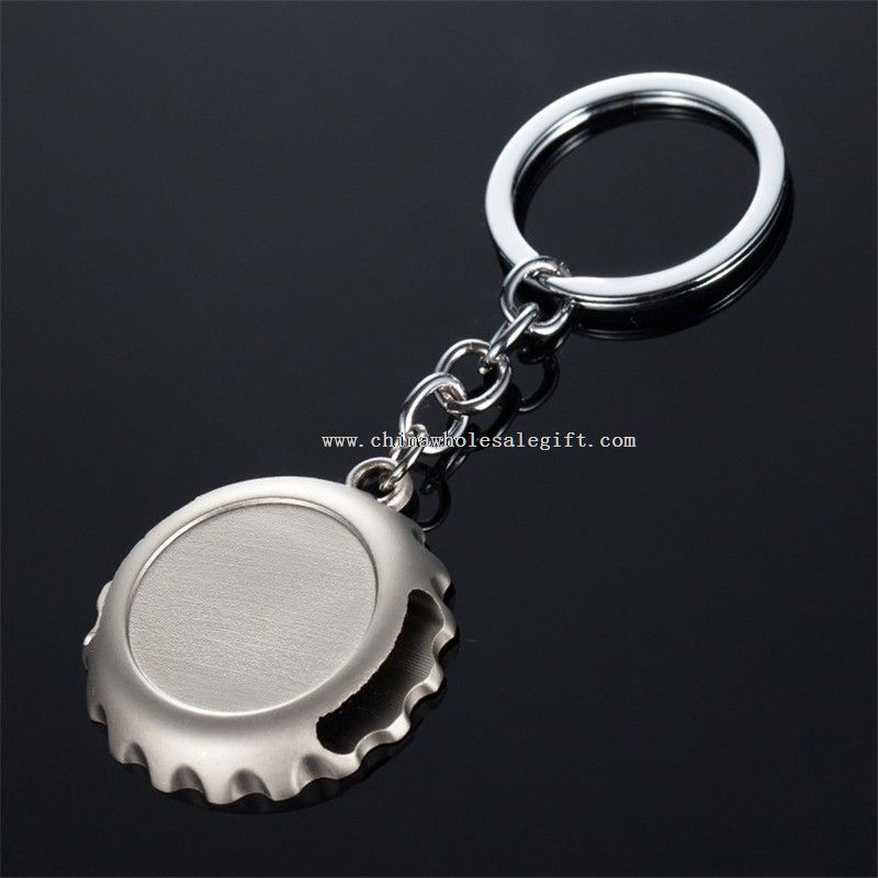metal beer bottle opener keychain