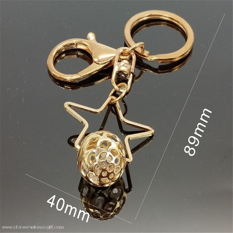 Mini Star Crystal Keychain